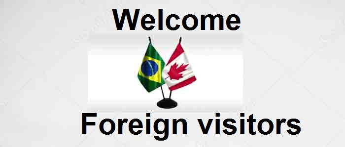 Welcome Foreign Visitors
